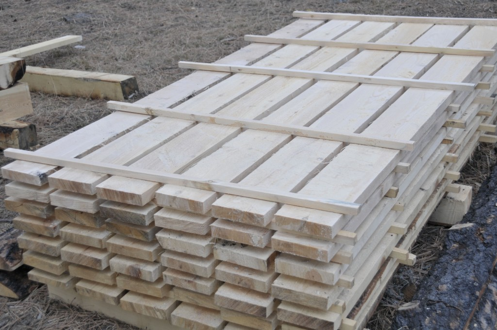 Rough Cut Pine Lumber